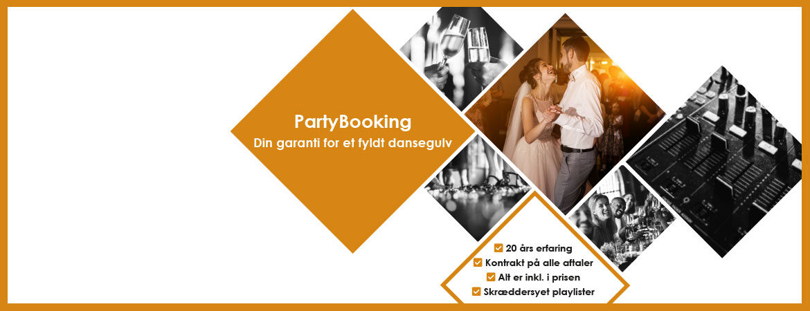 coverbillede partybooking
